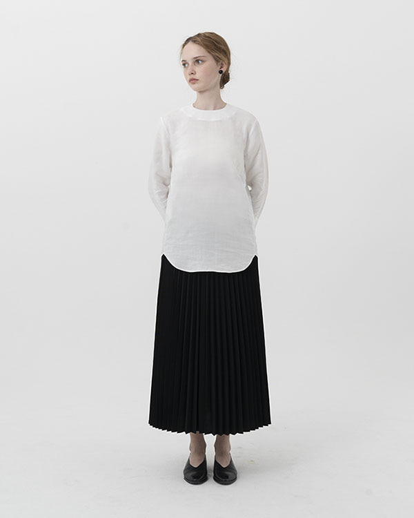 long pleats skirt (sold out)