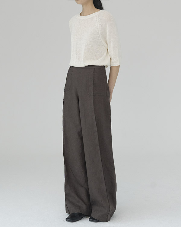 [black label] linen pocket pants (sold out)