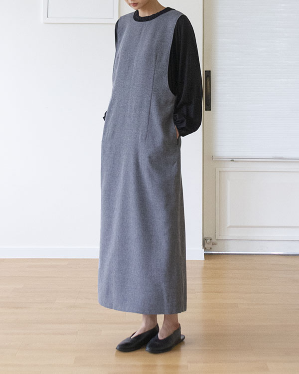 [black label] h wrap dress (sold out)