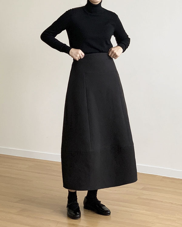 [black label] quilted skirt (sold out)