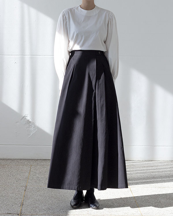 cotton twill skirt (sold out)