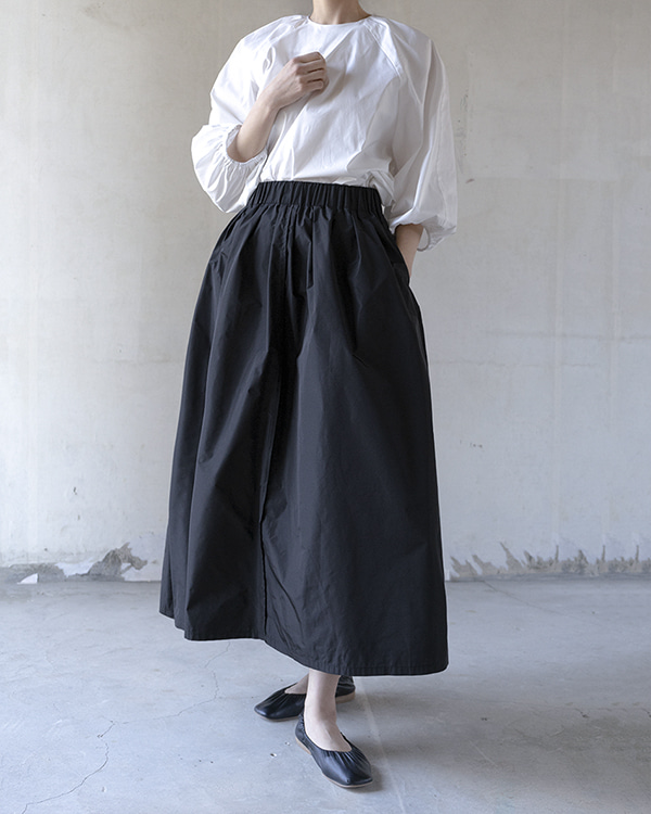 [black label] banding skirt (sold out)