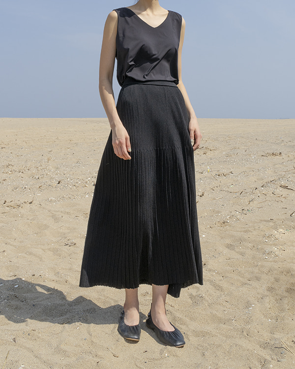 [black label] summer knit skirt (sold out)