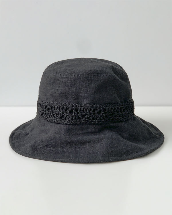 linen bucket hat (sold out)