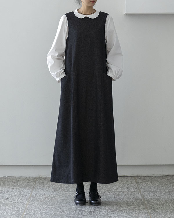 [black label] denim pocket dress (reorder open, 단독 주문시 선발송)