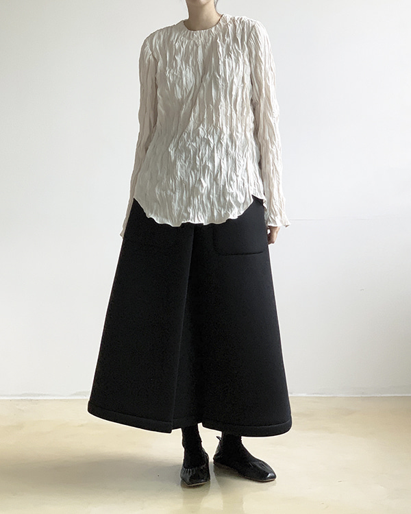 [black label] ease blouse (sold out)