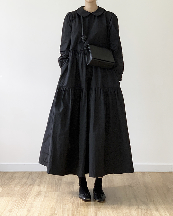 [black label] tiered dress (sold out)