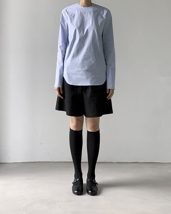[black label] round blouse (sold out)