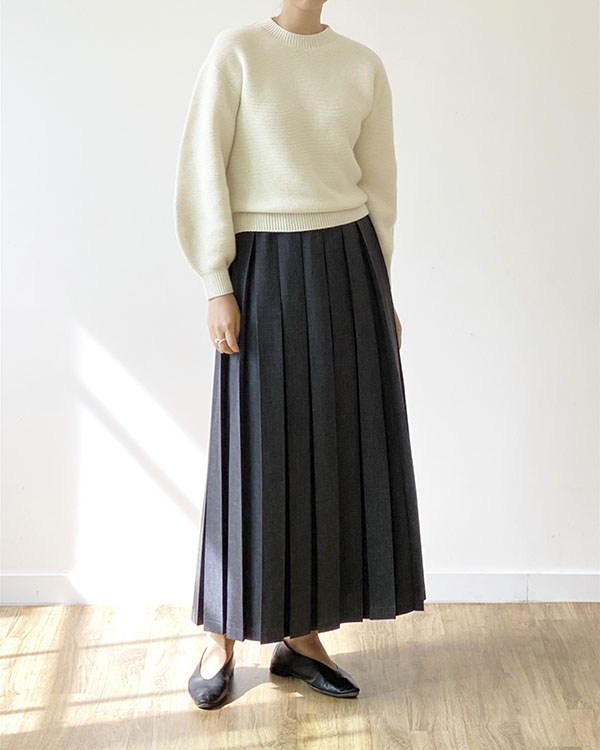 [black label] preppie skirt (sold out)