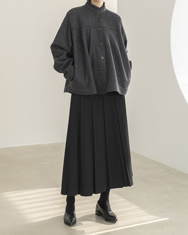 [black label] neck frill jacket (sold out)